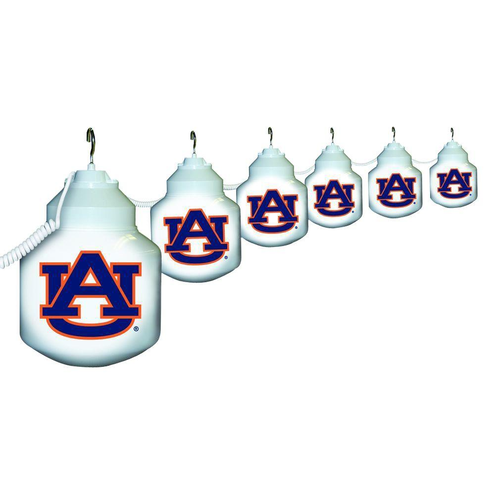 Polymer Products 6-Light Outdoor Auburn University String Light