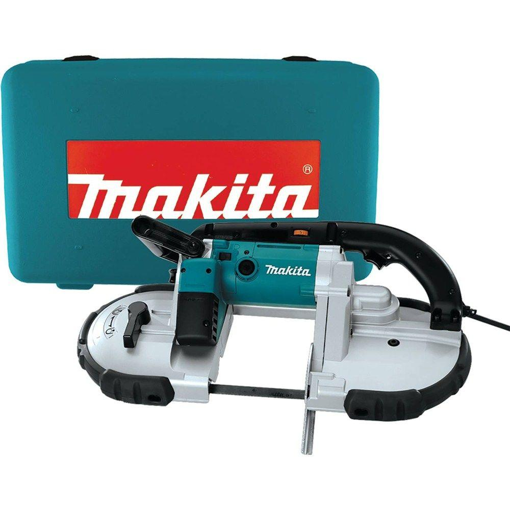 Makita 6.5-Amp Portable Band Saw with Tool Case-2107FZK - The Home