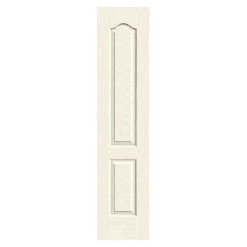 JELD-WEN 18 in. x 80 in. Molded Textured 2-Panel Eyebrow French