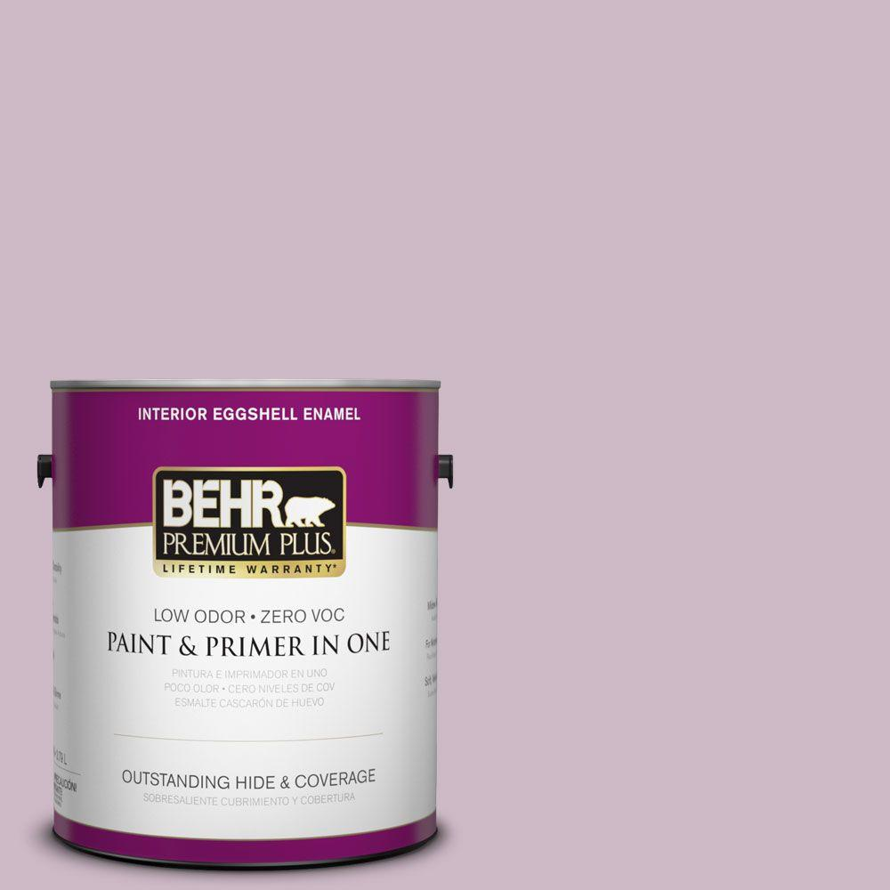 1-gal. #S110-3 Queen's Violet Eggshell Enamel Interior Paint