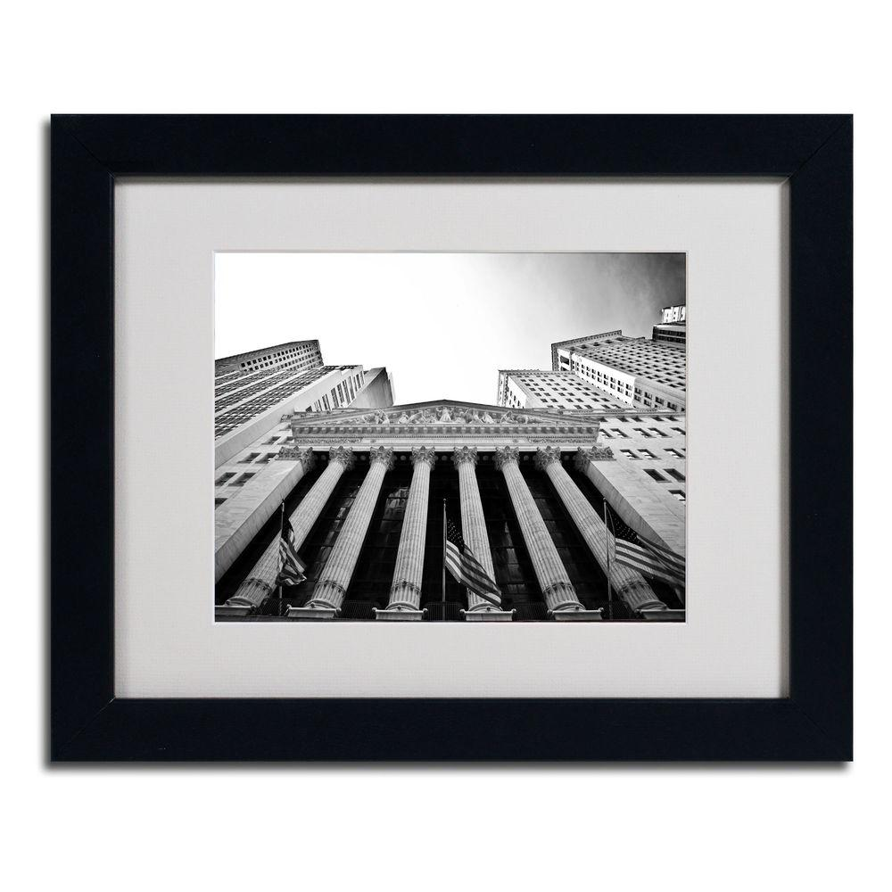 11 in. x 14 in. The New York Stock Exchange Matted