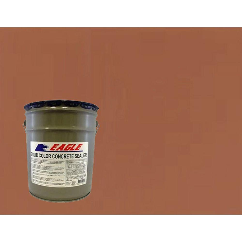 Eagle 5 gal. Naturally Red Solid Color Solvent Based Concrete Sealer