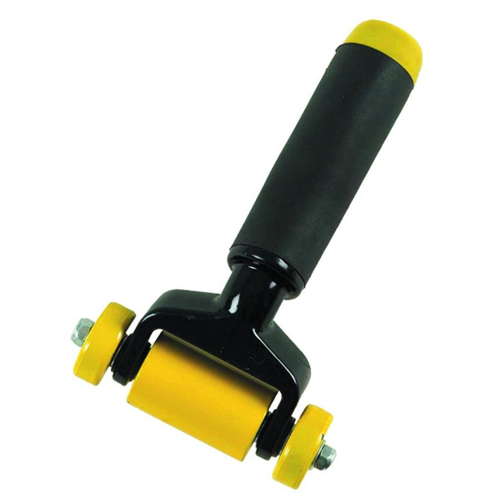 3 in. Smooth Seam Roller for Carpet Installation