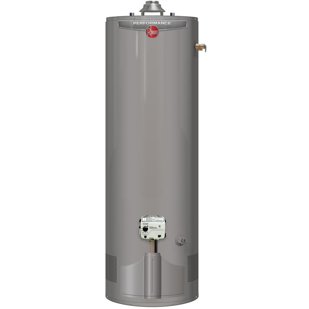 Performance 50 Gal. Tall 6-Year 38,000 BTU ULN Natural Gas Water