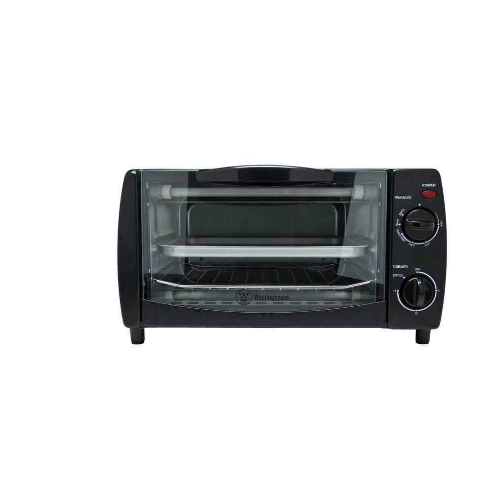 Westinghouse 4-Slice Toaster Oven in Black