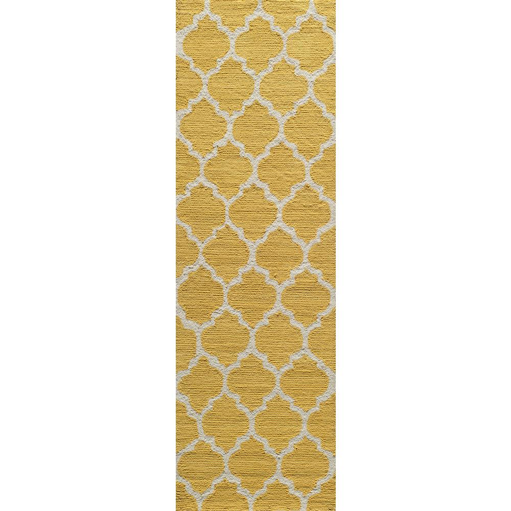 Geo Yellow 2 ft. 3 in. x 7 ft. 6 in.