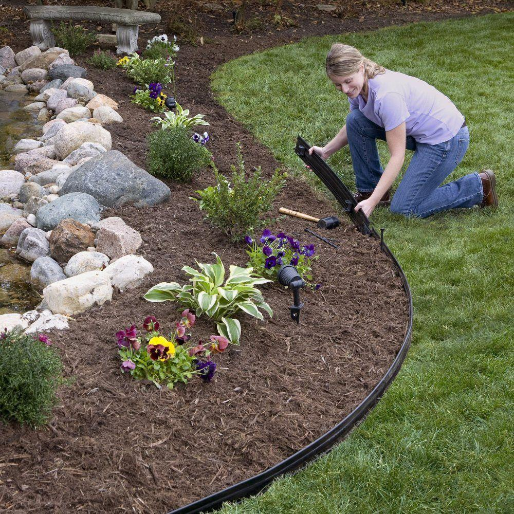 black landscape edging brown mulch 204779362 endearing landscape