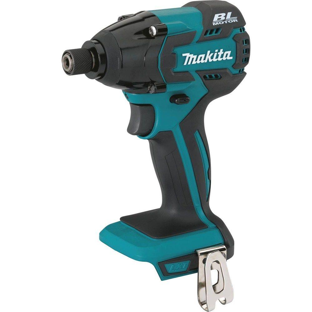 Makita 18-Volt LXT Lithium-Ion Brushless 1/4 in. Cordless Impact Driver (Tool-Only)