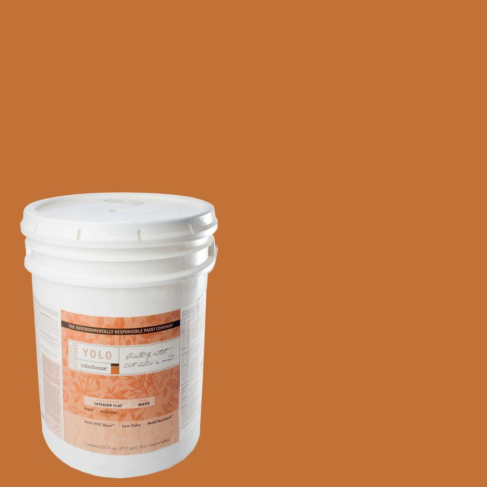 YOLO Colorhouse 5-gal. Create .03 Flat Interior Paint-DISCONTINUED