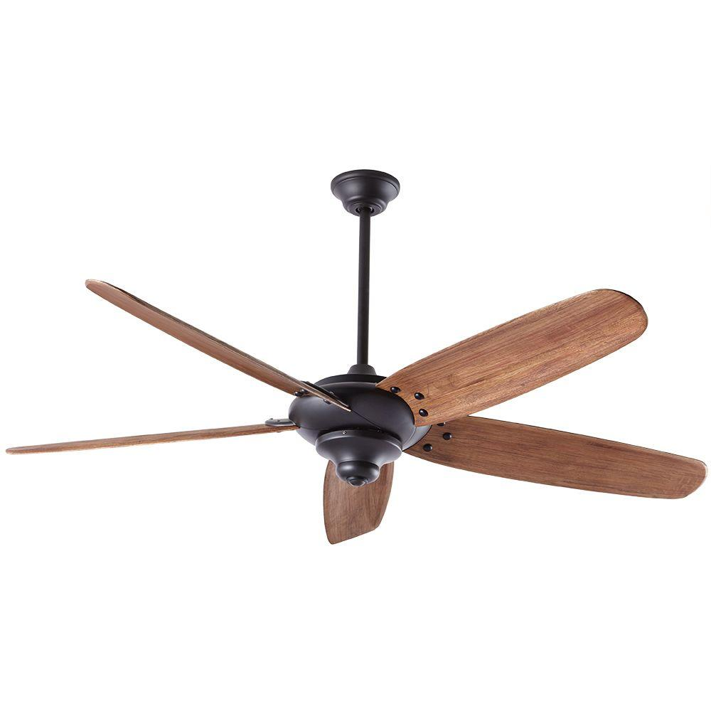 Altura DC 68 in. Indoor Matte Black Ceiling Fan