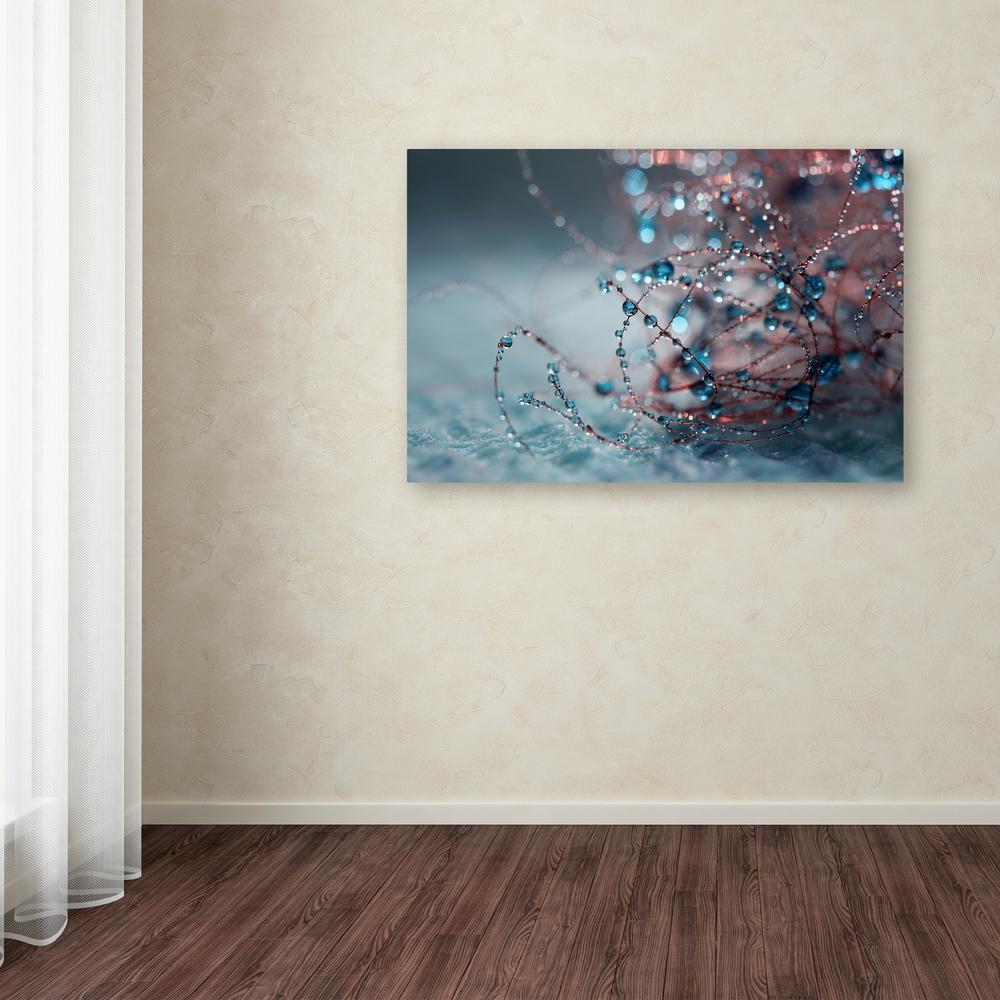 "12 in. x 19 in. ""Blue Silence"" by Beata Czyzowska Young"