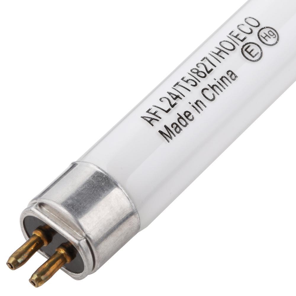 Fluorescent Light Fixture Fuse: ViaVolt 24-Watt T5 Red Linear Fluorescent Light Bulb