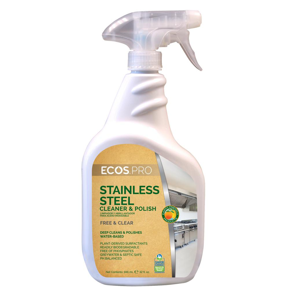 32 oz. Trigger Spray ECOS Pro Stainless Steel Cleaner (6-Pack)