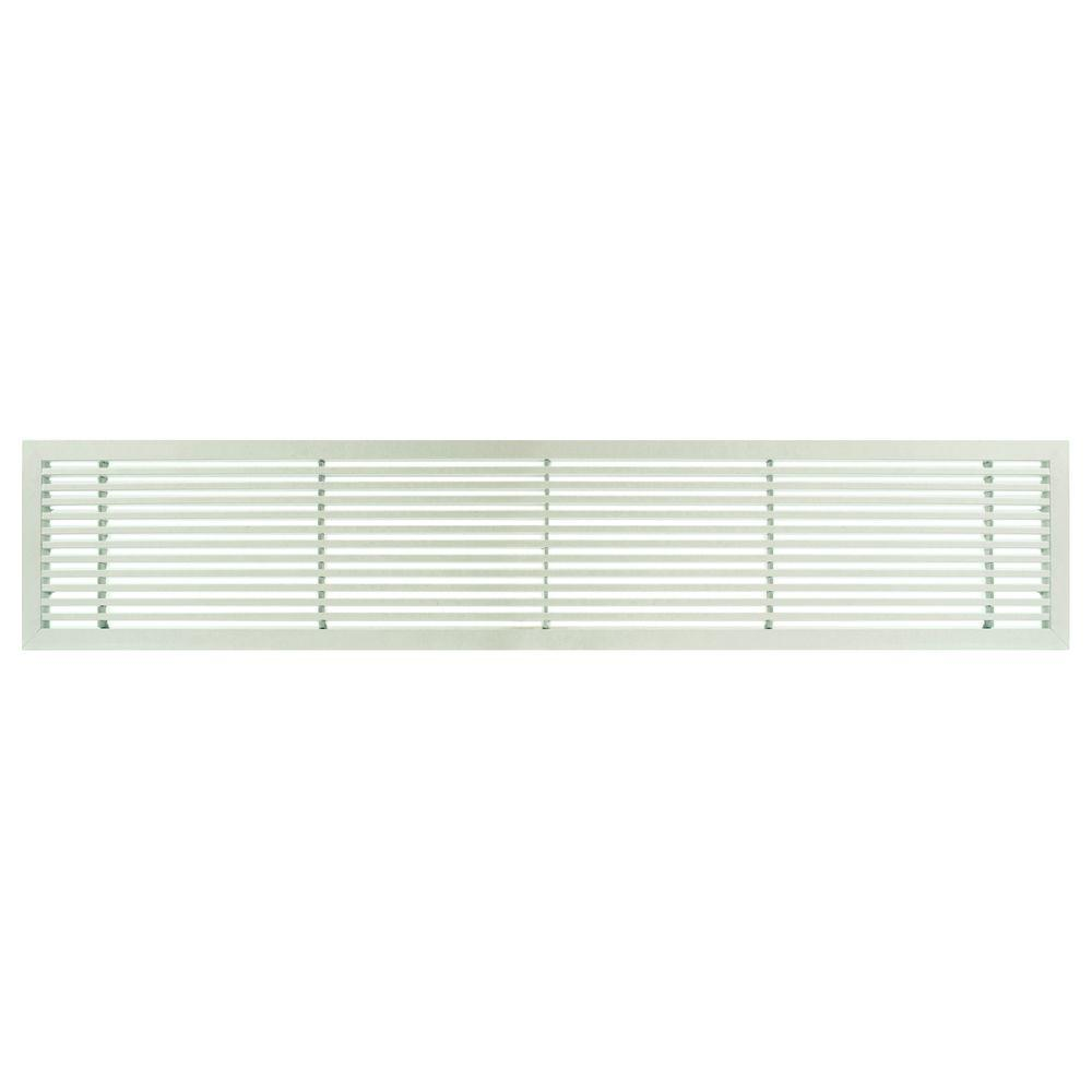 Architectural Grille AG20 Series 6 in. x 48 in. Solid Aluminum