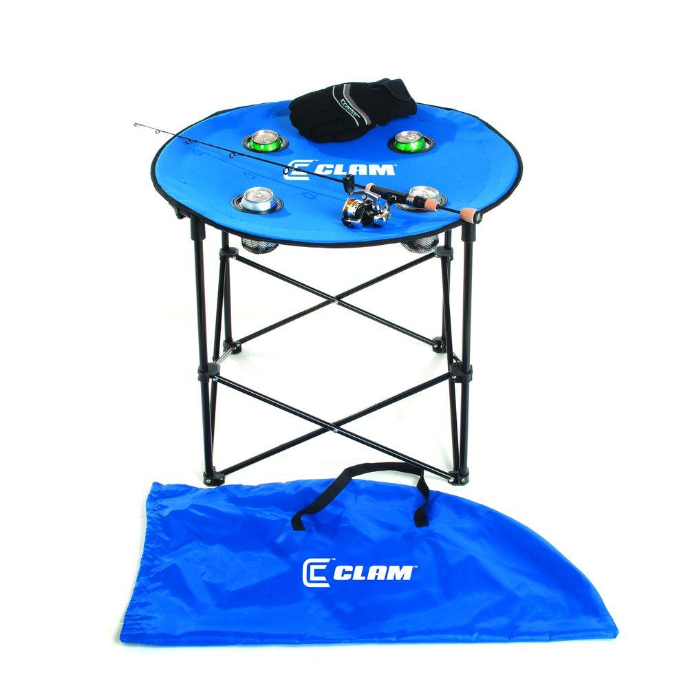 Cosco 24 In X 24 In Blue Vinyl Top Juvenile Table With