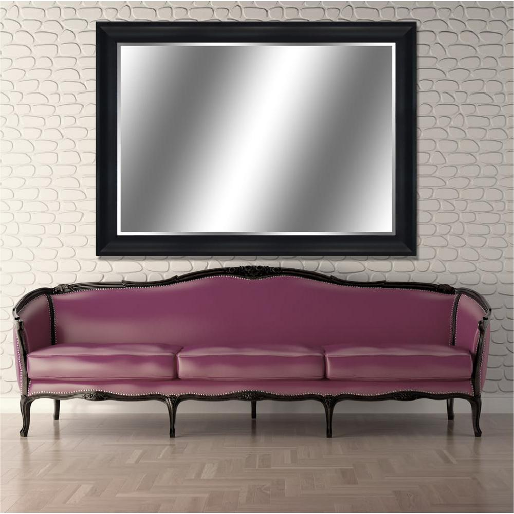 Y decor reflection 44 in x 60 in bevel style peyton for Mirror 45 x 60