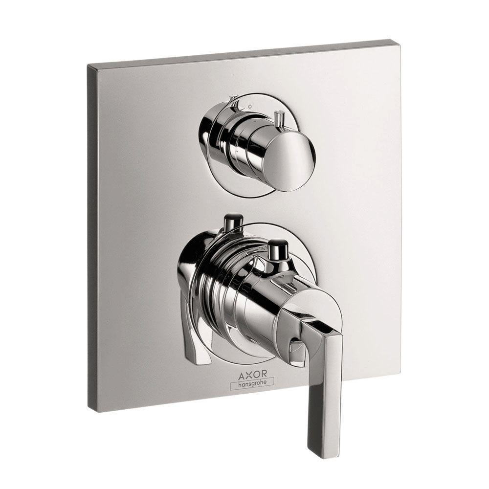 Axor Citterio 2-Handle Thermostatic Valve Trim Kit with Volume Control and