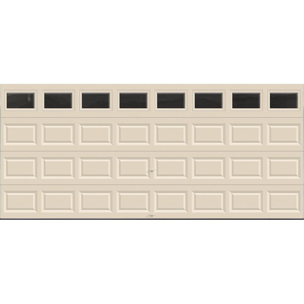 Value Series 16 ft. x 7 ft. Non-Insulated Almond Garage Door