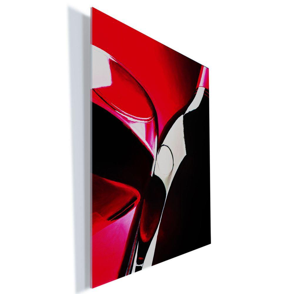 "Trademark Fine Art 24 in. x 18 in. ""Red Wine"" by Roderick Stevens Printed Acrylic Wall Art"