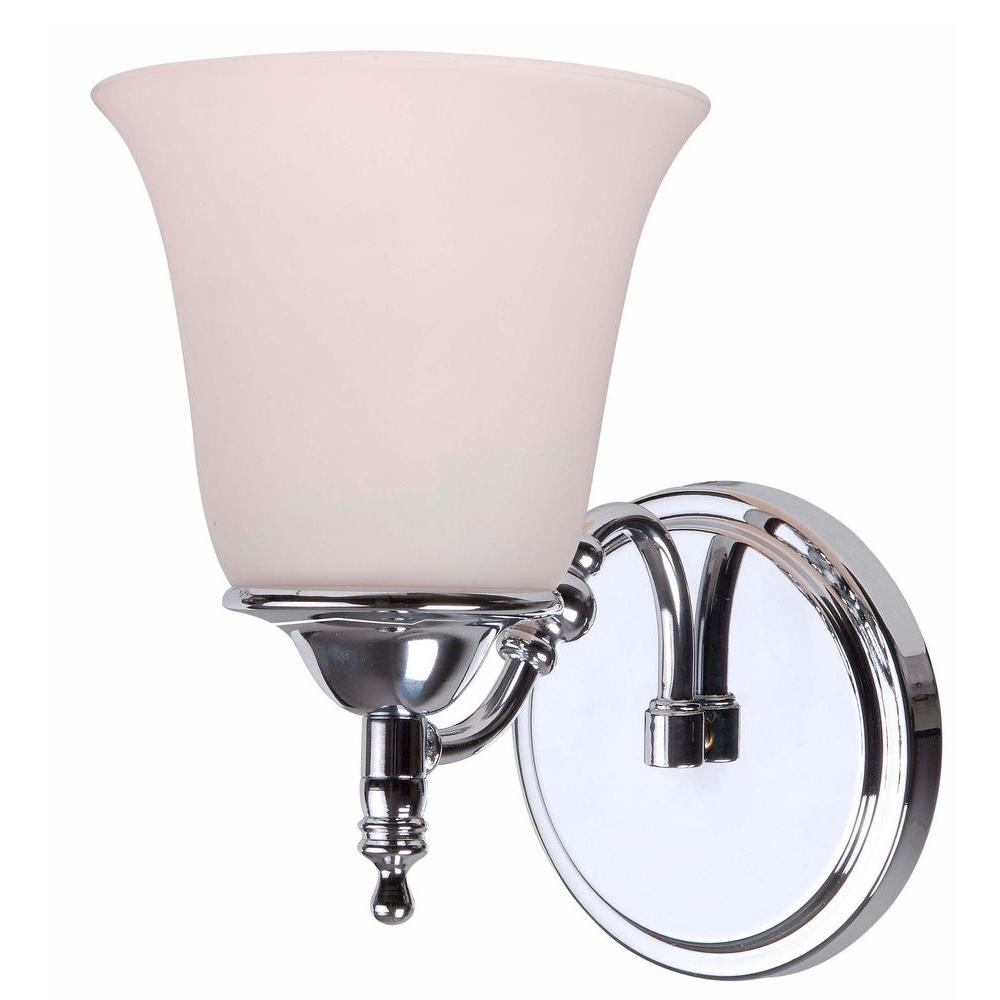 Rumson 1-Light Chrome Sconce