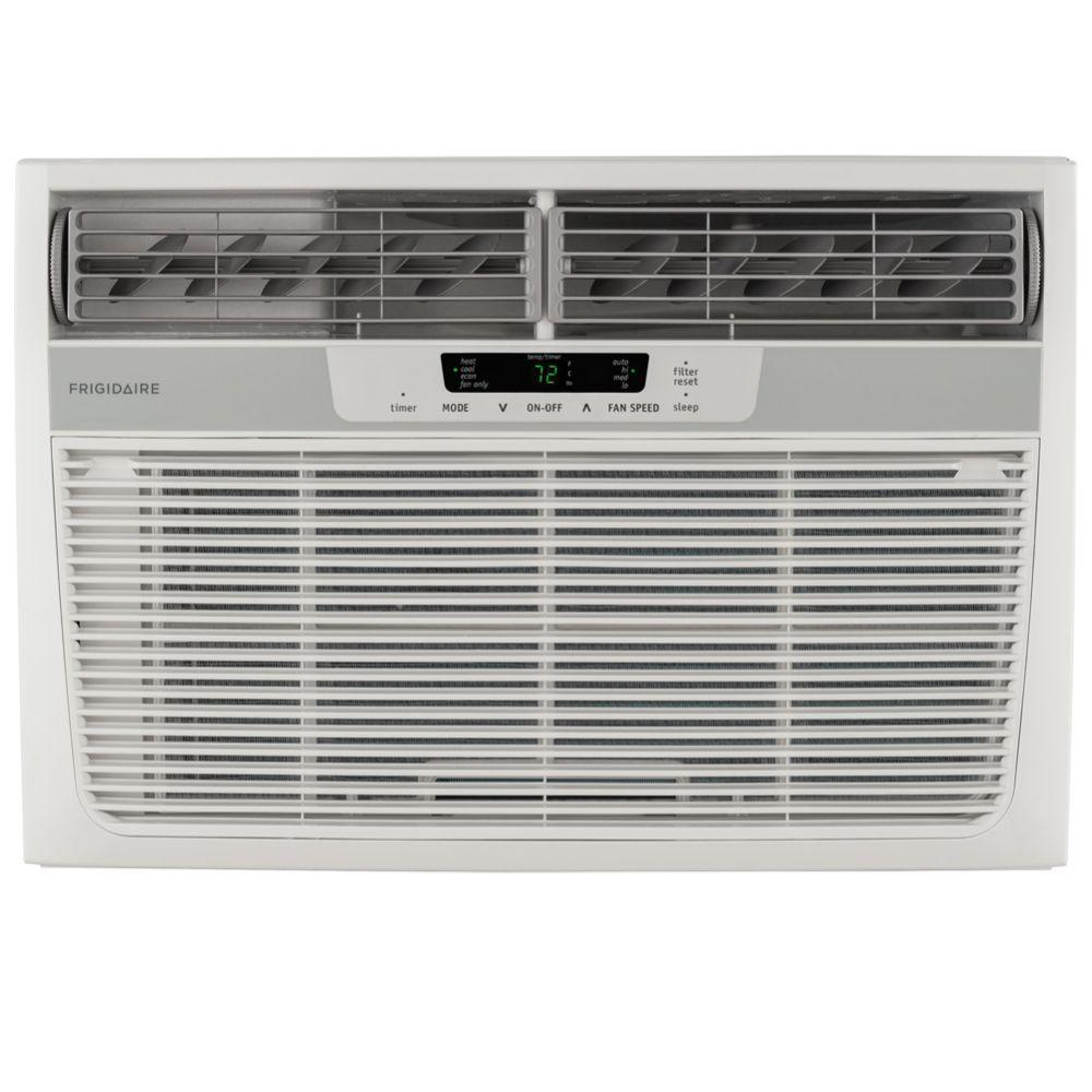 Frigidaire 12,000 BTU Window Air Conditioner with Heat and Remote