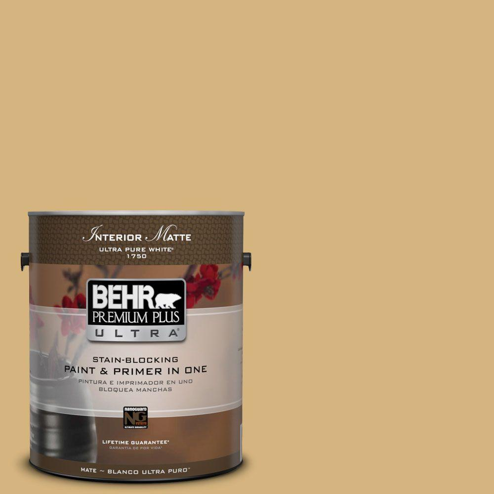 1 gal. #M300-4 Gilded Matte Interior Paint