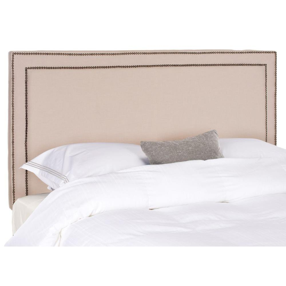Cory Full Headboard in Taupe (Brown)