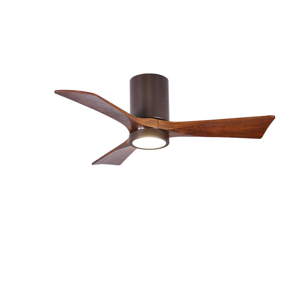 Radionic Hi Tech Camilla 42 in. 3-Blade Textured Bronze Ceiling