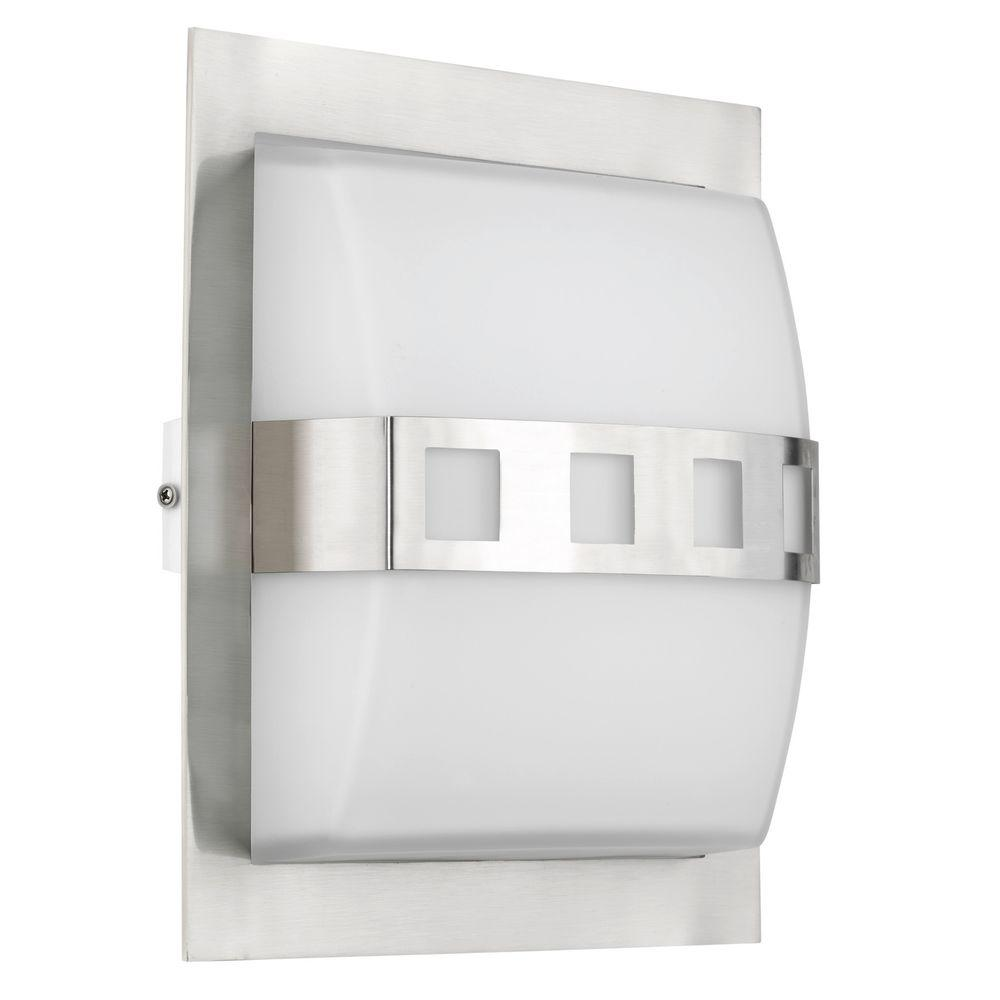 Eglo Alicante 1-Light Surface Mount Silver Wall Light-DISCONTINUED