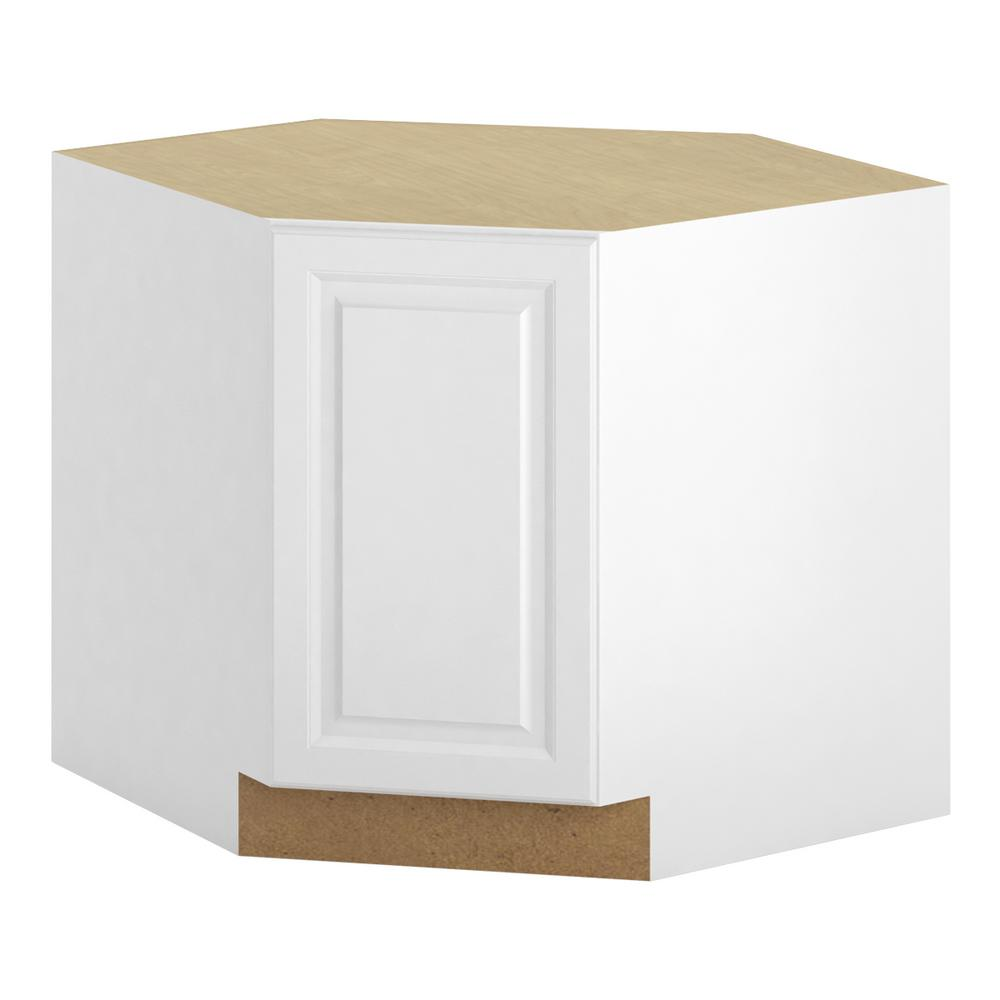 Ready to Assembled 36x34.5x36 in. Madison Corner Sink Base Cabinet in