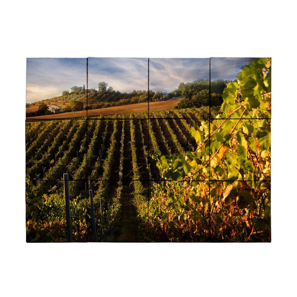 Tile My Style Vineyard3 18 in. x 24 in. Tumbled Marble Tiles (3 sq. ft. /case)