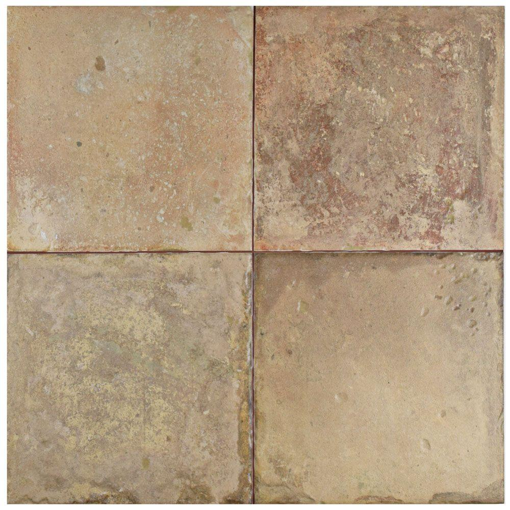 Alora 17-5/8 in. x 17-5/8 in. Ceramic Floor and Wall Tile