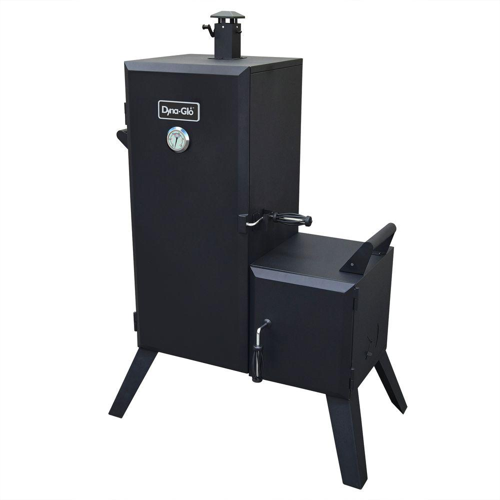 Dyna-Glo 47 in. Vertical Off-Set Charcoal Smoker