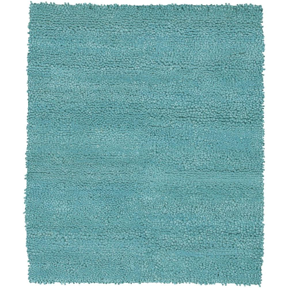 Chandra Strata Blue 7 ft. 9 in. x 10 ft. 6 in. Indoor Area Rug