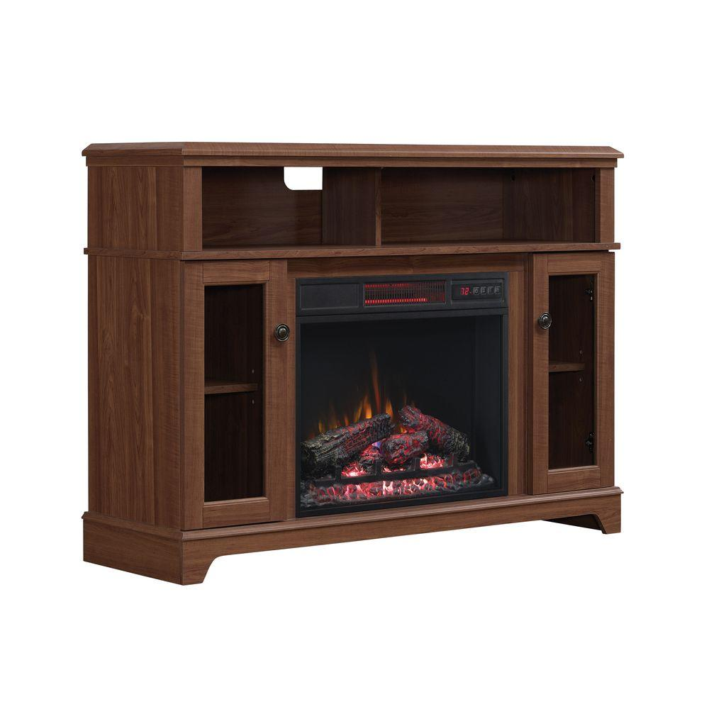 Home Decorators Collection Fire Places Wood Stoves Hardware Ravensdale 48 In Media Console