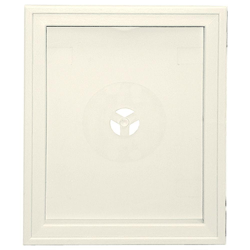 Builders Edge 6.75 in. x 8.75 in. #034 Parchment Large Recessed