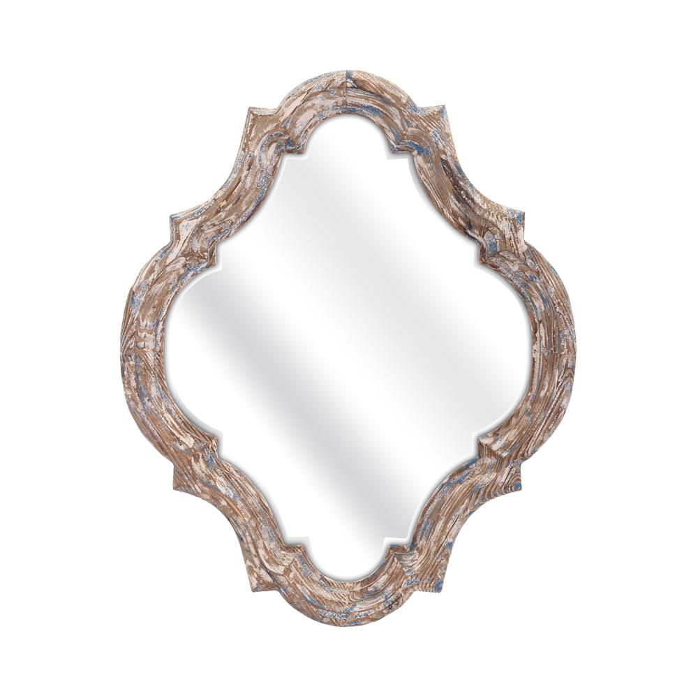 Home Decorators Collection Stark 27 in. x 22.25 in. Framed Mirror