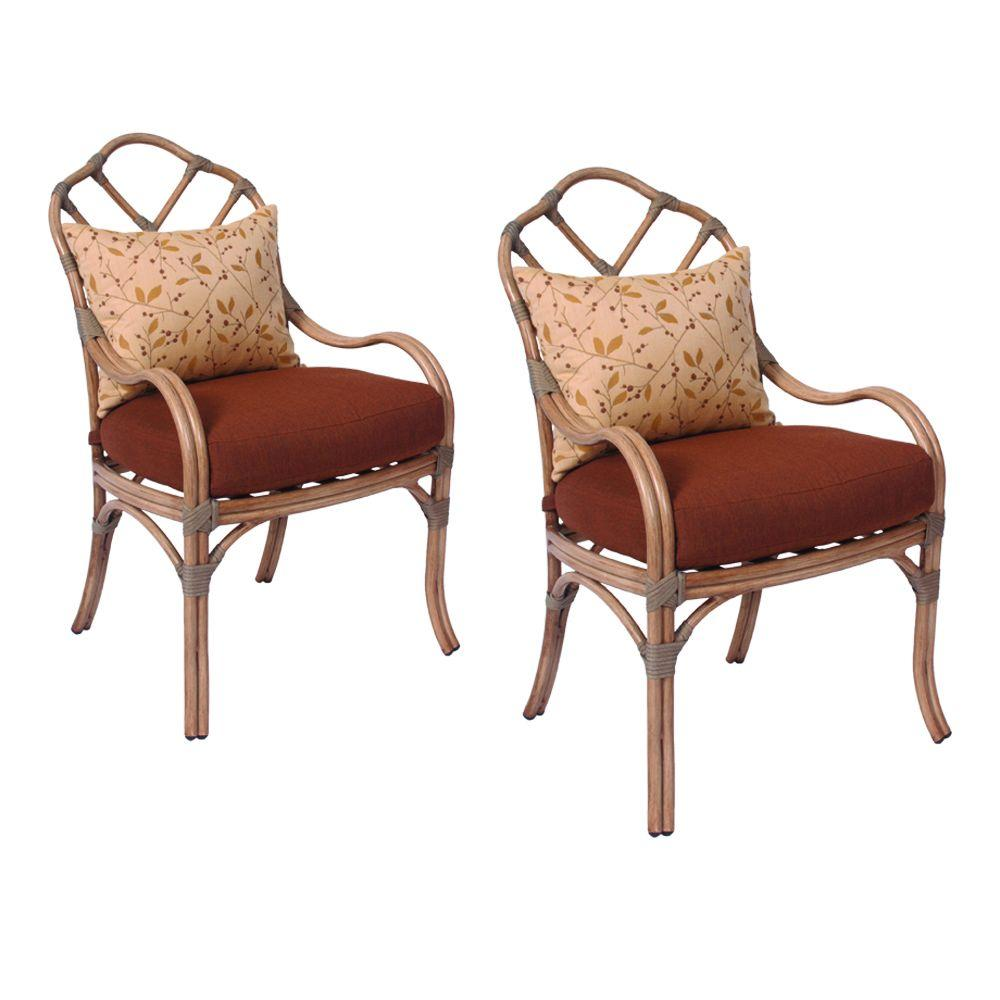 Thomasville Crystal Bay Patio Dining Chairs (2-Pack)