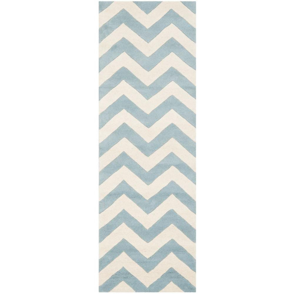 Safavieh Chatham Blue / Ivory 2 ft. 3 in. x 5
