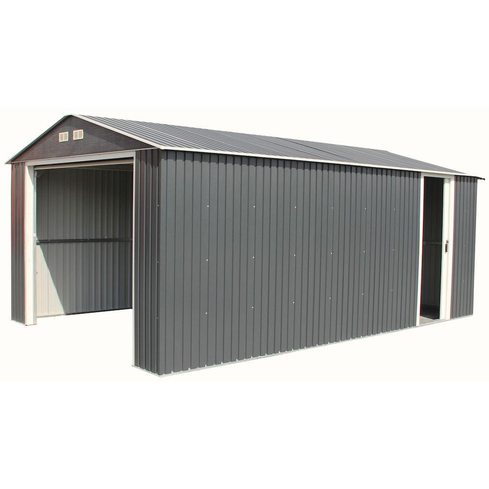 Duramax building products imperial 12 ft x 20 ft metal for Home hardware garage packages cost