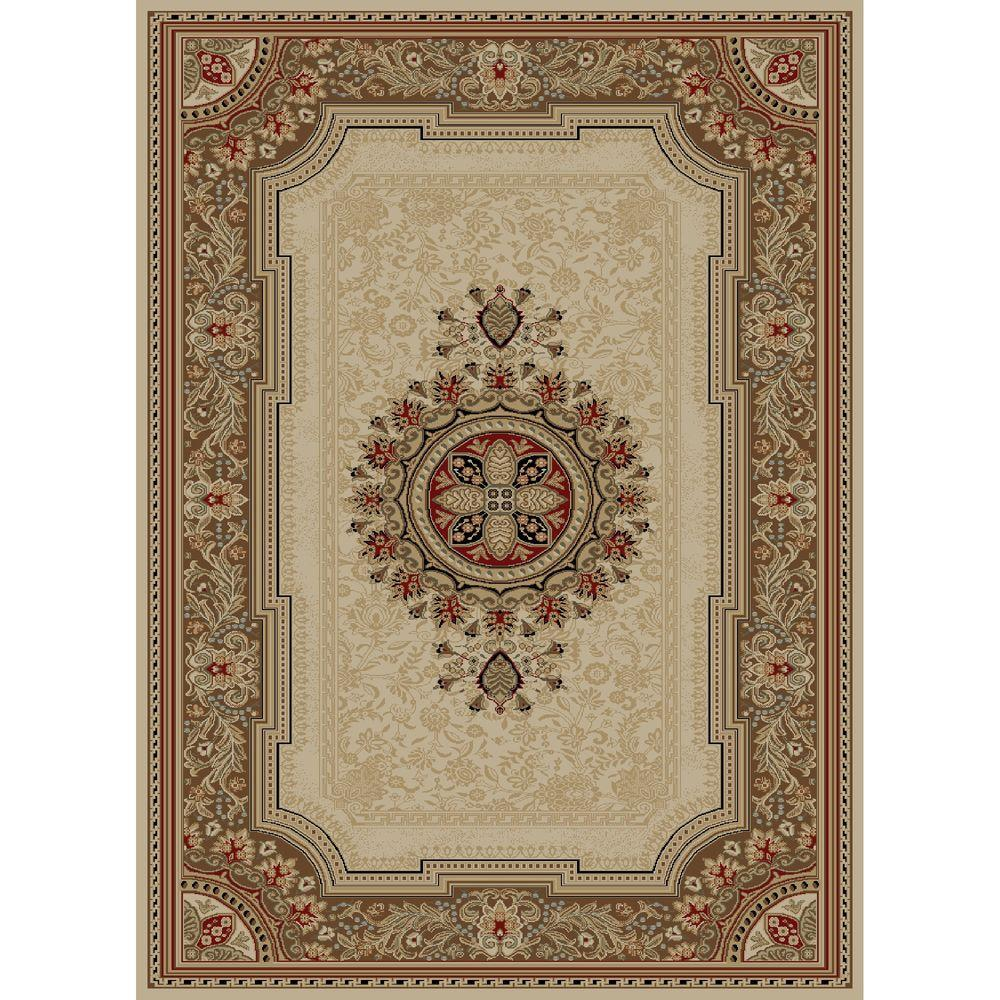 Ankara Chateau Ivory 2 ft. 7 in. x 4 ft. 1