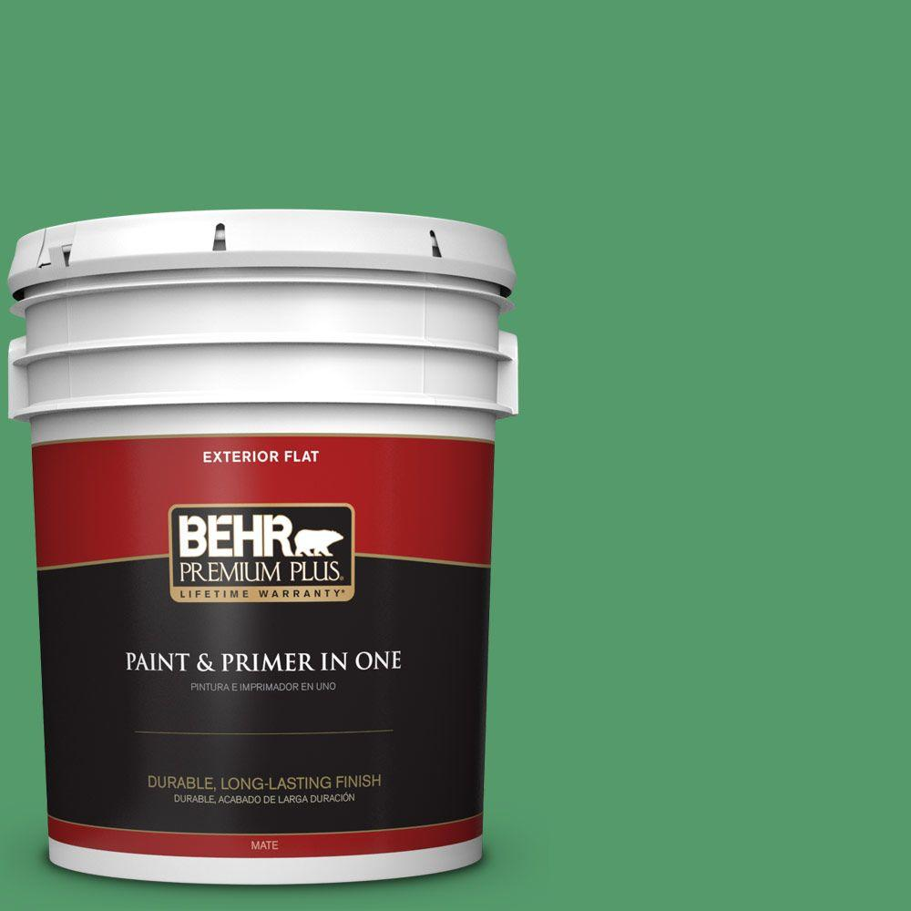 5-gal. #P410-6 Solitary Tree Flat Exterior Paint
