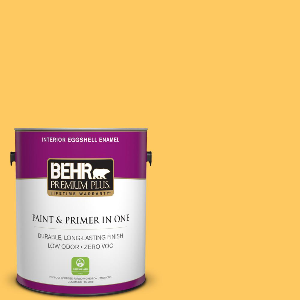 BEHR Premium Plus 1-gal. #P260-6 Smiley Face Eggshell Enamel Interior Paint