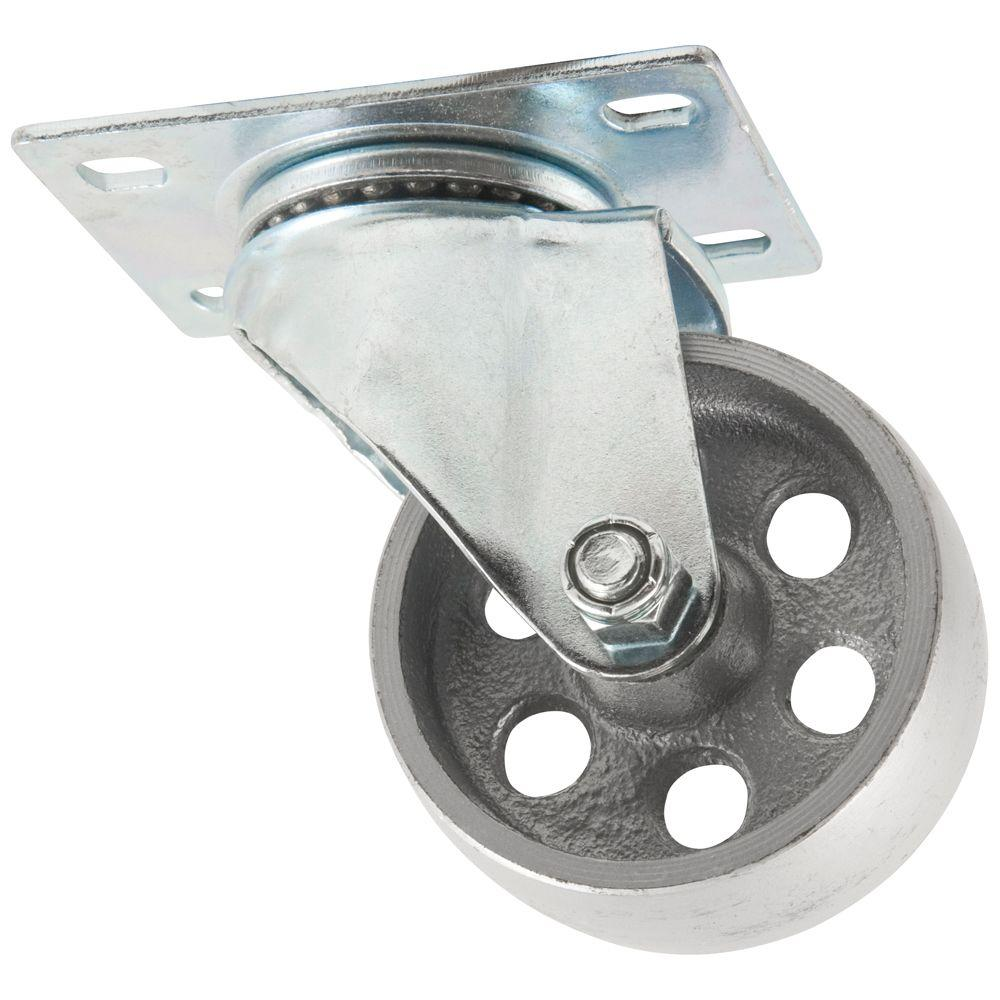 Everbilt 3 in. Steel Swivel Caster-4035345EB - The Home Depot