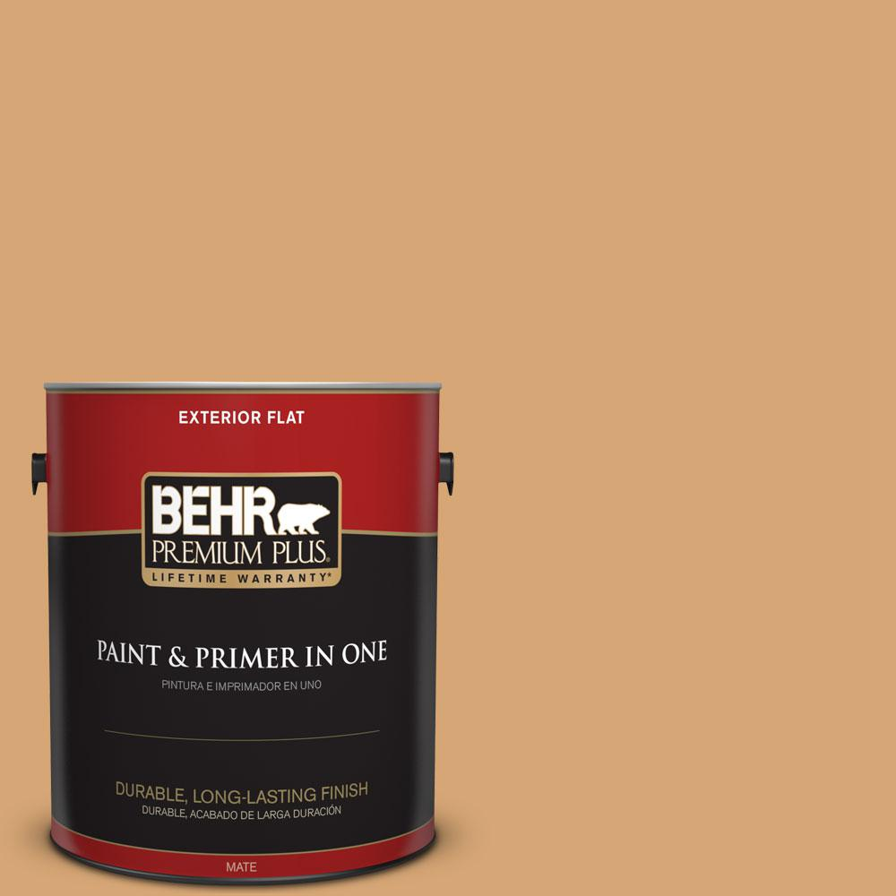 1-gal. #M250-4 Cake Spice Flat Exterior Paint