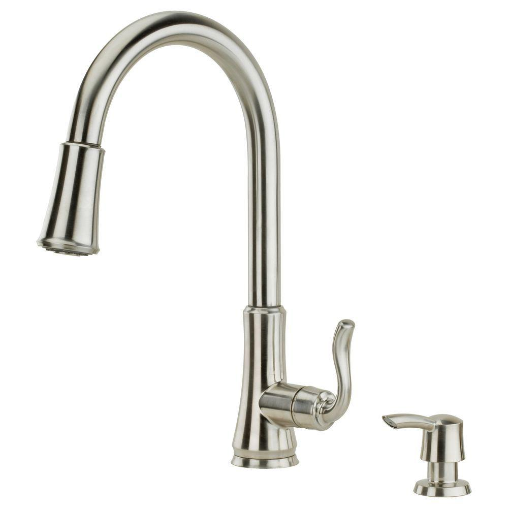 Pfister Stainless Steel Pull Down Faucet Pull Down Stainless Steel Pfister Faucet