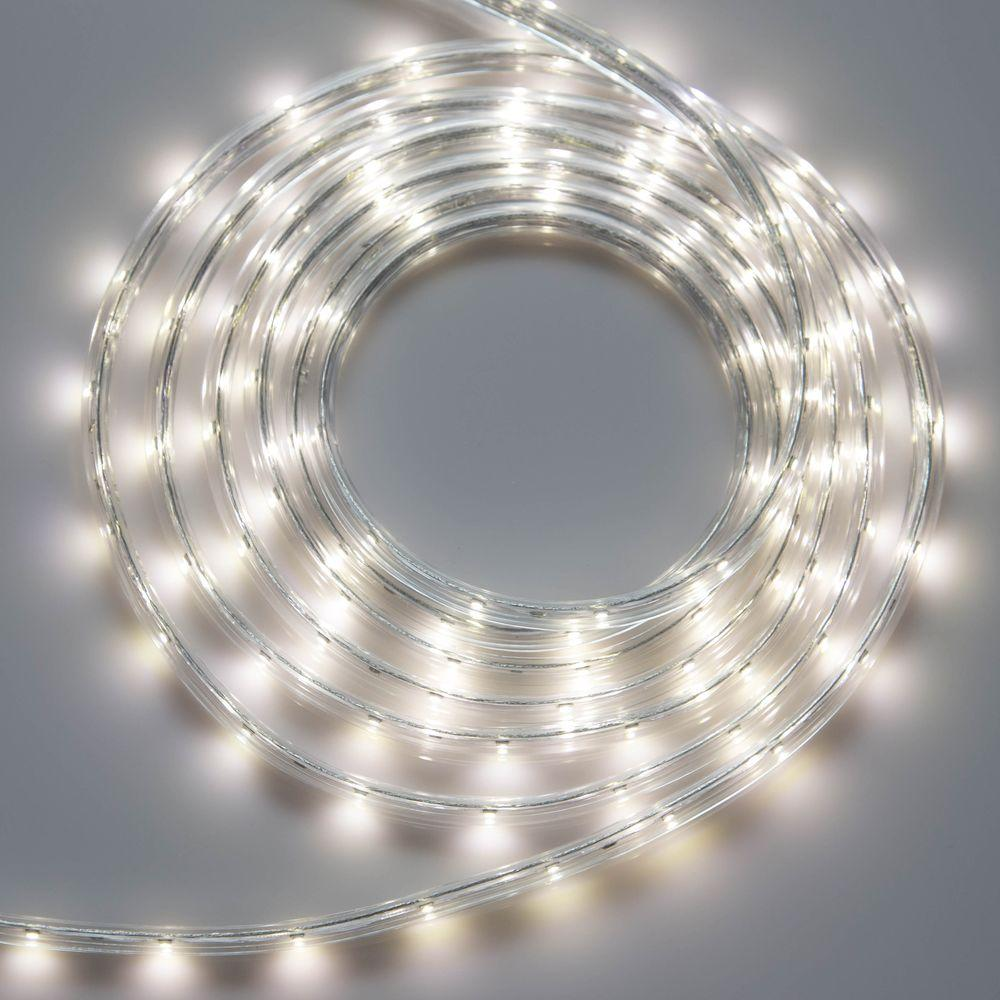 meilo 12 ft white led strip light tal12 cw s the home depot
