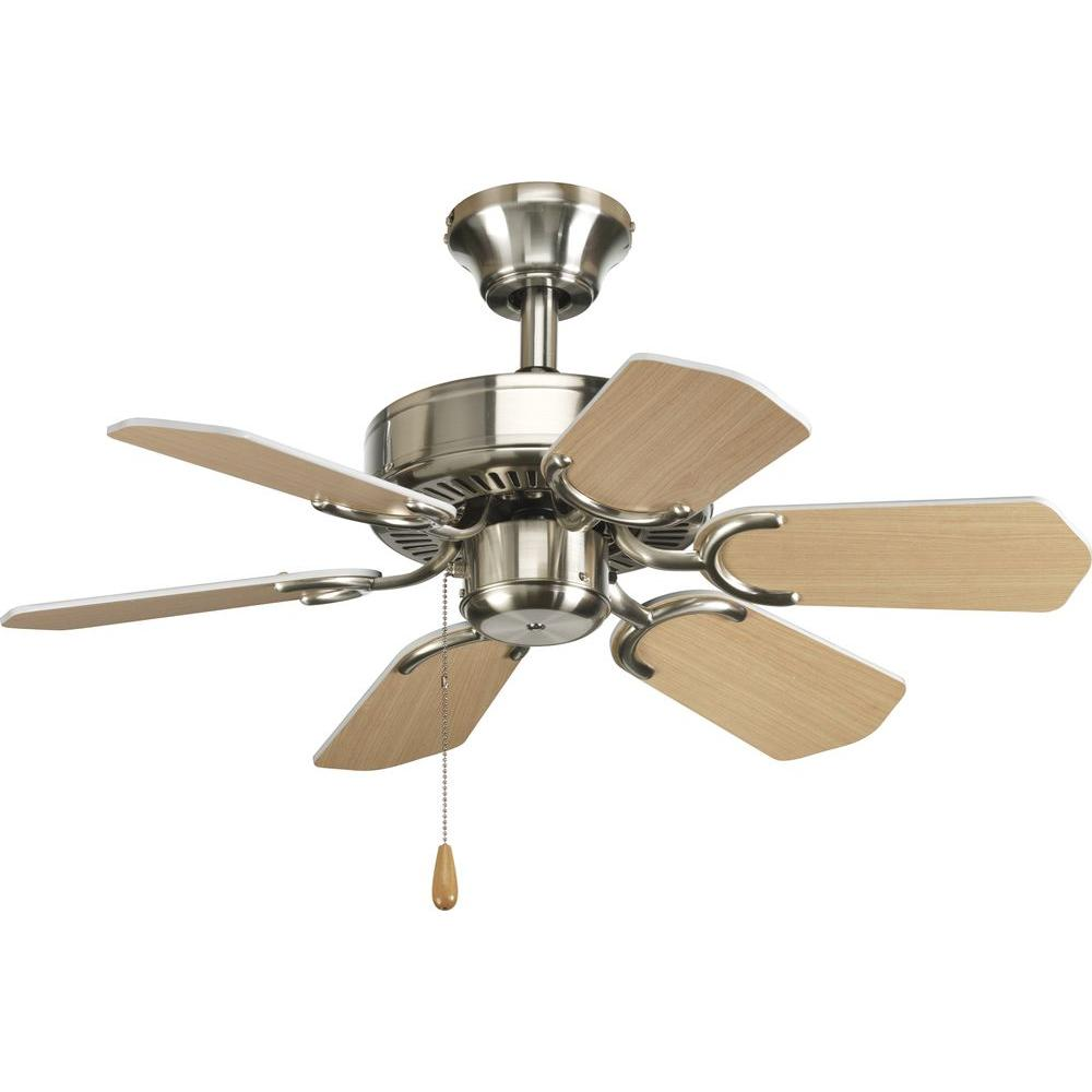 Progress Lighting AirPro 30 In. Brushed Nickel Ceiling Fan-DISCONTINUED