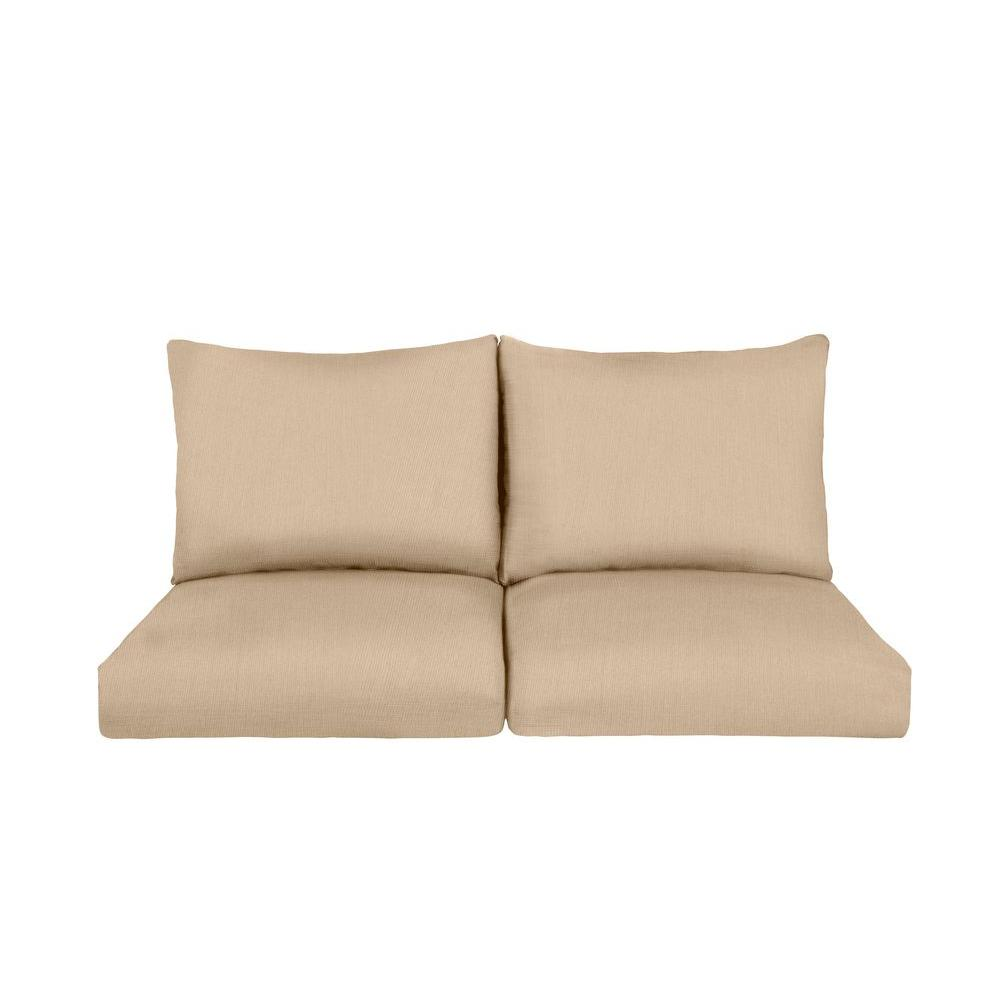 Marquis Replacement Outdoor Loveseat Cushion in Harvest