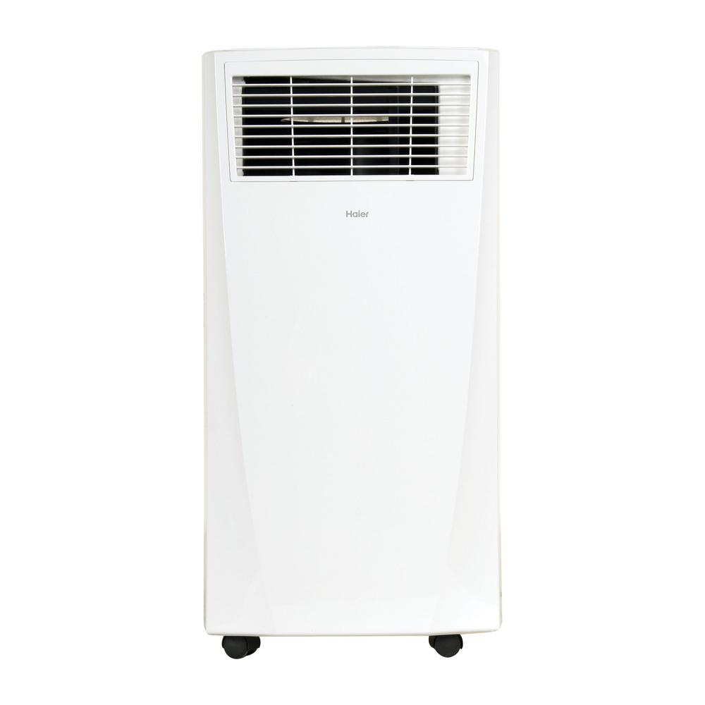 Haier  BTU Portable Air Conditioner With Dehumidifier - Home depot small air conditioner
